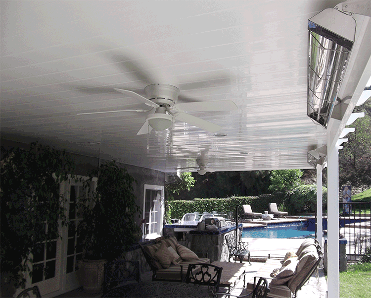 Attractive Solid Patio Cover