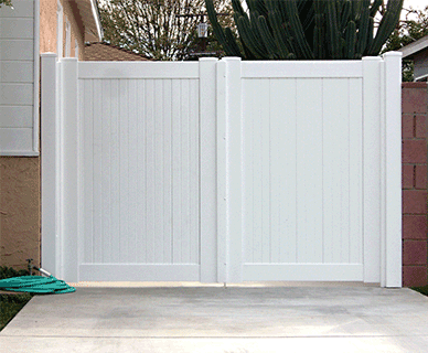 Custom Vinyl Driveway Gates Los Angeles Ca Buy Gates Simi Valley