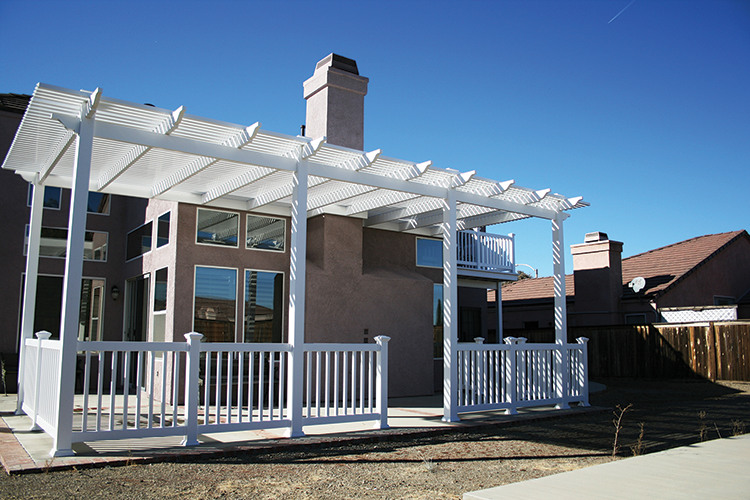 Vinyl Picket Patio Covers Solid Patio Covers Los Angeles