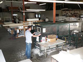 Showroom Amp Factory Vinyl Fence Depot Los Angeles Ca Buy