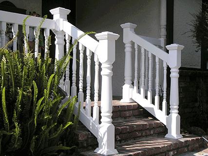 Porch Railing, balcony railings, Los Angeles CA, Buy Gates