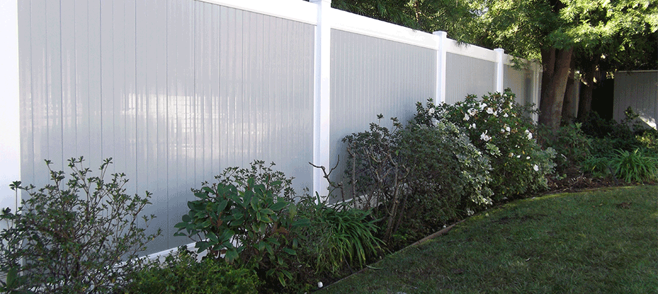 "Privacy Fence Two ToneStandard Sizes:  5'- 5'6""- 6'- 6'6""- 7'- 7'6""- 8' high Custom sizes available.   Variety colors."