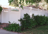 Privacy Fence with Picket Accent