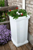 Planter Boxes Rain Barrel