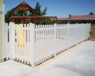 Vinyl Picket Fence Play Ground