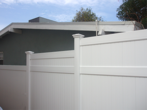 Vinyl Privacy Fencing with Extensions