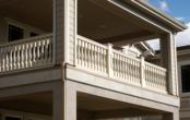 Vinyl Roman Balcony