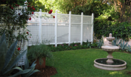 Vinyl Semi Privacy Lattice Fence