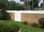 Privacy Block Wall Extension