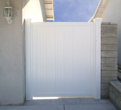 Vinyl Single Side Gate