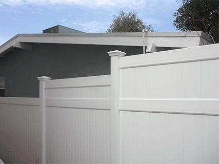 Vinyl Privacy Fencing Los Angeles - Vinyl Solid Fencing ...
