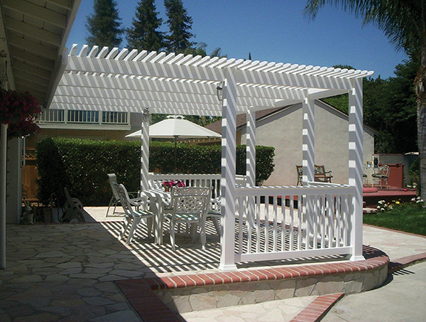 Vinyl Picket Patio Covers Solid Patio Covers Los Angeles Ca Buy