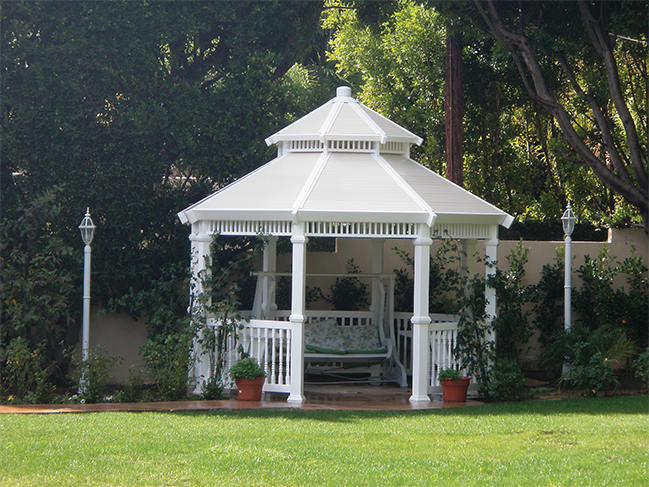 Custom Vinyl Gazebos Los Angeles Ca Buy Gates Simi Valley