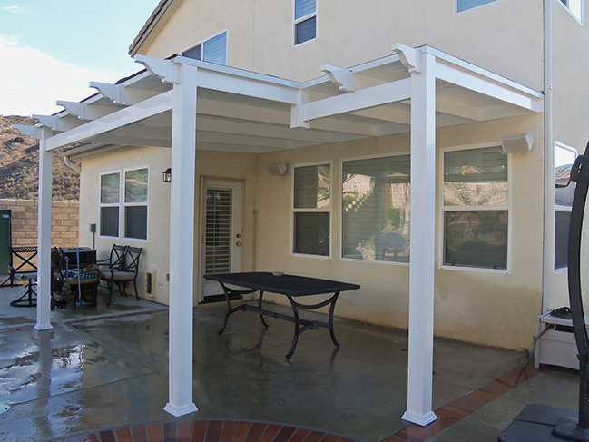 Solid Patio Covers - Vinyl Patio Covers, Solid Patio Covers Los Angeles CA, Buy Gates