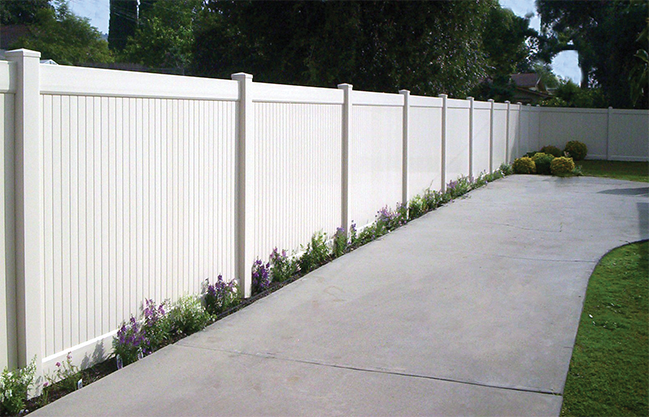 Solid Privacy Fence